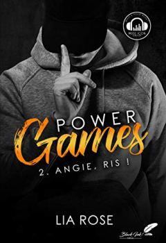 Livres Couvertures de Power games : Angie, ris !
