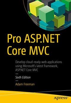 Livres Couvertures de Pro ASP.NET Core MVC