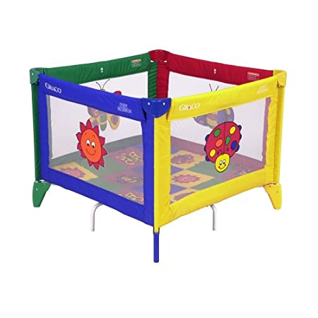 Graco Pack 'n Play TotBloc Playard - Bugs QuiltThe Graco Pack 'n Play TotBloc Portable Playard has an extra-large play space that creates a safe area that your little one will love. It's 36 x 36 inches, so it can really grow with your child. Plus, it...