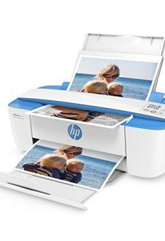 Livres Couvertures de HP DeskJet 3720Imprimante sans fil All-in-One avec fonctions Impression, copie et scanner, 4800x 1200, vert eau bleu