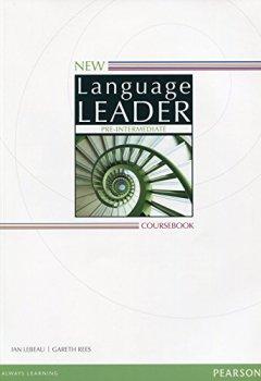 Livres Couvertures de New Language Leader Pre-Intermediate Coursebook