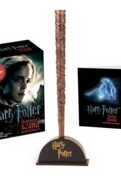 Livres Couvertures de Harry Potter Hermione's Wand with Sticker Kit: Lights Up!