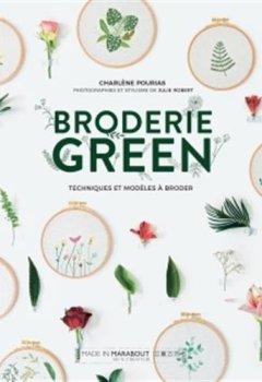 Livres Couvertures de Broderie green