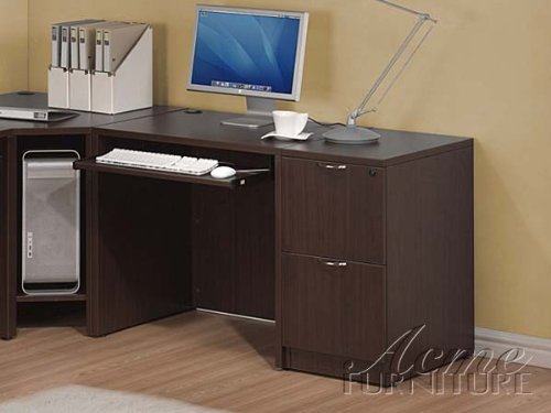 Picture of Comfortable Furniture Fair Oaks Computer Desk by Acme Furniture (B005G4UE60) (Computer Desks)