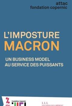 Livres Couvertures de L'imposture Macron : Un business model au service des puissants