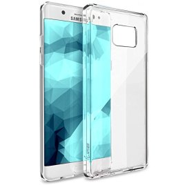 Galaxy-Note-7-Case-Enther-Ultimate-Cushion-Clear-Thin-Slim-Scratch-Dust-Proof-Hybrid-Transparent-Case-with-Shock-Absorb-Trim-Bumper