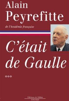 Livres Couvertures de C'était de Gaulle Tome 3