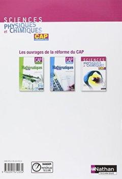 Livres Couvertures de Sciences physiques et chimiques