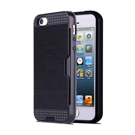Iphone-6-6S-47-Card-Slot-Armor-Case-Gold-Silver-Black-White-Grey-Blue-Green-Heavy-Duty-EXTREME-PROTECTION-Tough-Hard-Wearing-Case-by-Foxx-Electronics