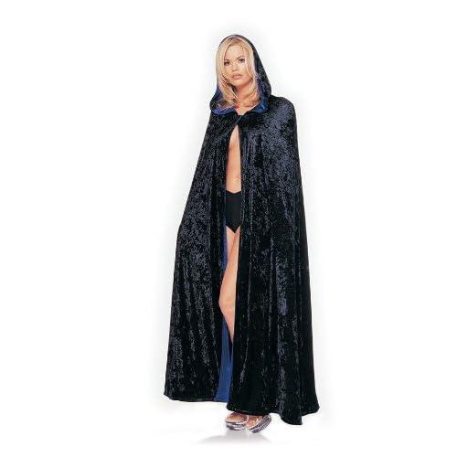 Velvet Cloak - Sexy Velvet Cape Halloween Costume Lingerie Outfits