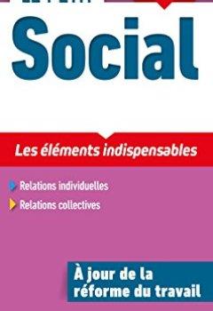 Livres Couvertures de Le Petit Social 2018 - 13e ed. - Les éléments indispensables