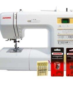 Janome Magnolia 7330 Sewing Machine w/ FREE BONUS Package - 30 Stitch Computerized w/ 5 Year Extended Warranty