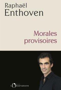 Livres Couvertures de Morales provisoires