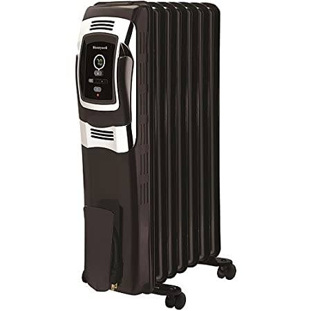 Honeywell Digital Oil Filled Radiator Whole Room Heater w/ Digital EasySet Controls