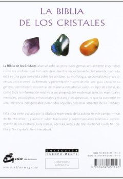 Portada del libro deLa biblia de los cristales: Guía definitiva de los cristales - Características de más de 200 cristales (Cuerpo-Mente)