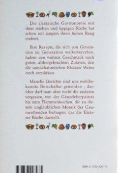 Livres Couvertures de La cuisine alsacienne meilleures recettes (d)