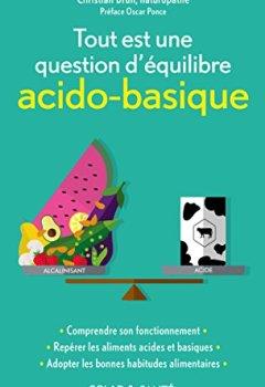 Livres Couvertures de Tout est une question d'équilibre acido-basique