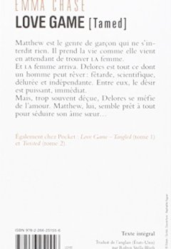 Livres Couvertures de Love Game (3)
