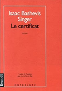 Livres Couvertures de Le certificat