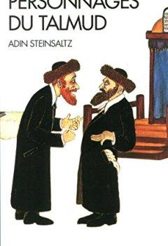 Livres Couvertures de Personnages du Talmud