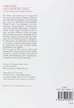 Livres Couvertures de Une saison de coton : Trois familles de métayers