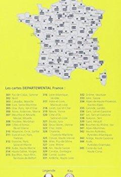Livres Couvertures de Carte Alpes-de-Haute-Provence, Hautes-Alpes Michelin