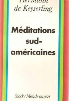 Livres Couvertures de Méditations sud-américaines...