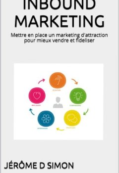 Livres Couvertures de INBOUND MARKETING: Mettre en place un marketing d'attraction pour mieux vendre et fideliser