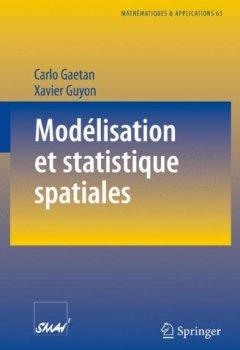 Livres Couvertures de Modélisation et statistique spatiales