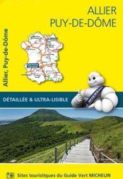 Livres Couvertures de Carte Allier, Puy-de-Dôme Michelin