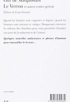 Livres Couvertures de Le Verrou et autres contes grivois