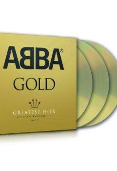 Livres Couvertures de Abba Gold - Edition 40e anniversaire (Coffret 3 CD)