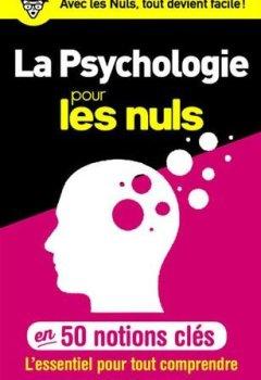 Livres Couvertures de 50 notions clés sur la psychologie pour les Nuls