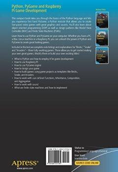 Livres Couvertures de Python, PyGame and Raspberry Pi Game Development