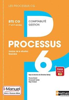 Livres Couvertures de Processus 6 - BTS CG 1re et 2e années