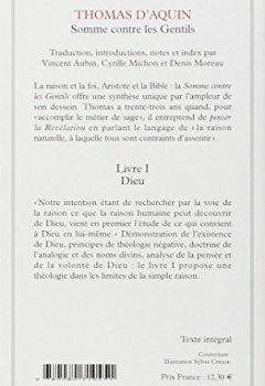 Livres Couvertures de Somme contre les gentils, livre I : Dieu