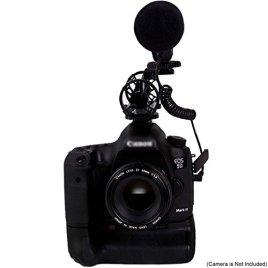 Dolica-MIC-100-High-Sensitivity-Directional-Shotgun-Condenser-Microphone-Black