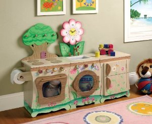 Teamson Kids Enchanted Forest 3-Piece Kitchen プレイセット(並行輸入)