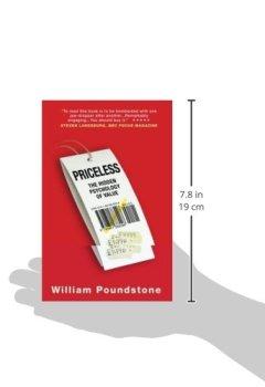 Livres Couvertures de Priceless: The Hidden Psychology Of Value
