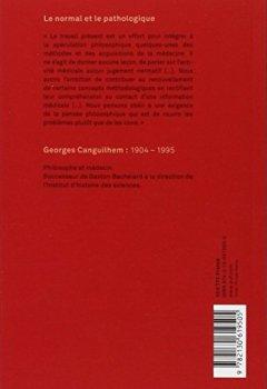 Livres Couvertures de Le normal et le pathologique