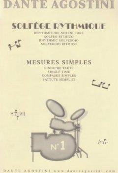 Livres Couvertures de Solfège rythmique - Volume 1 - Mesures simples