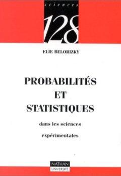 Livres Couvertures de Probabilités et statistique dans les sciences expérimentales