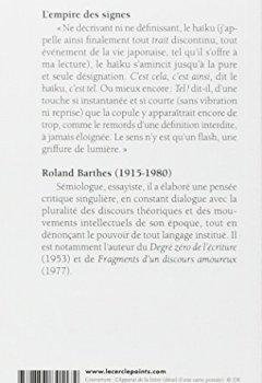 Livres Couvertures de L'Empire des signes