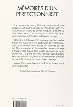 Livres Couvertures de Mémoires d'un perfectionniste