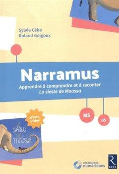 Livres Couvertures de Narramus : La sieste de Moussa (+ album et CD-Rom)