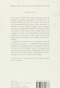 Livres Couvertures de Frida Kahlo  autoportrait d'une femme