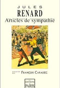 Livres Couvertures de Articles de sympathie