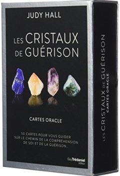 Livres Couvertures de Les cristaux de guérison - Cartes oracle : Coffret de 50 cartes pour vous guider sur le chemin de la compréhension de soi et de la guérison...