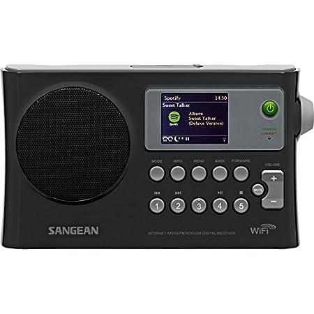 WFR-28 WiFi Internet / FM-RDS / Network Player / USB Portable Radio