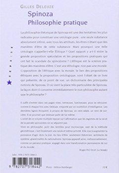 Livres Couvertures de Spinoza. : Philosophie pratique